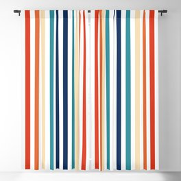 Mod Stripes Blackout Curtain
