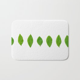 Brisk Bright Leaves Bath Mat