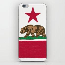 California State Flag iPhone Skin