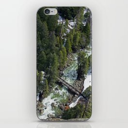 view from above iPhone Skin