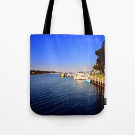 Thompson River - Paynesville - Australia Tote Bag