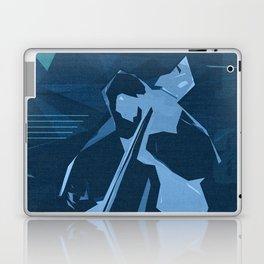 Jazz Contrabass Poster Laptop & iPad Skin