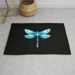 Ice Dragonfly Rug