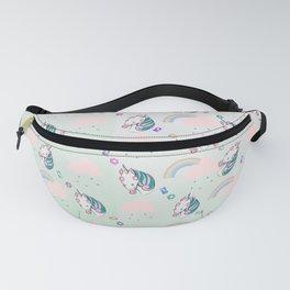 Glamour Unicorn Pattern Fanny Pack