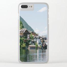 Hallstatt IV Clear iPhone Case
