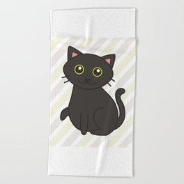 Stitch the Fat(ass) Cat Beach Towel