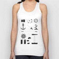ouat Tank Tops featuring OUAT - A Pirate by Redel Bautista