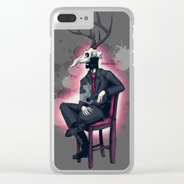 Deer Daddy series 2 Miss Me Clear iPhone Case