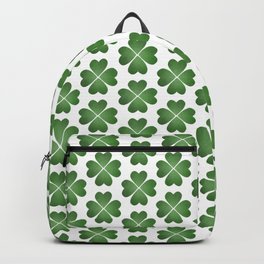 Hearts Clover Pattern Backpack