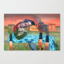 Screamin' Jay Hawkins - Ol' Man River Canvas Print
