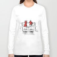 friendship Long Sleeve T-shirts featuring Friendship by Ginta Spate