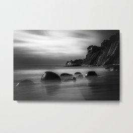 Just Another Beach Bowling Ball Beach hig tide Metal Print