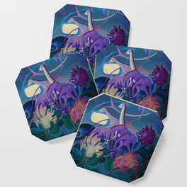 Moonlight dances Coaster