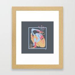 Self growth Framed Art Print