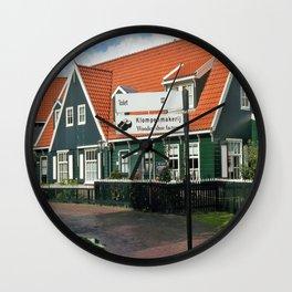 Klompenmakerj Wall Clock