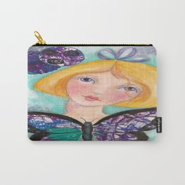 Whimiscal with Butterfly Carry-All Pouch