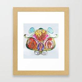 Birdie Birdies Framed Art Print