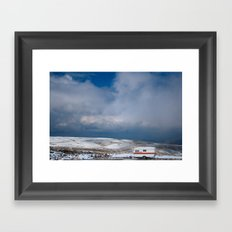 Erciyes Daği Framed Art Print
