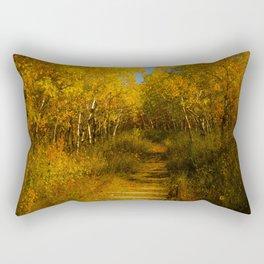 Old Spur Line Rectangular Pillow