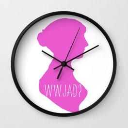 WWJAD? Wall Clock