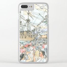 Neptune, the Galeon Clear iPhone Case