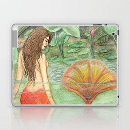Waterlily Mermaid Laptop & iPad Skin