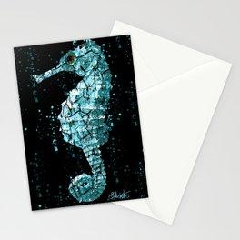 Seahorse Ocean Deep Stationery Cards
