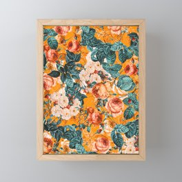 SUMMER GARDEN III Framed Mini Art Print
