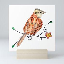 Bird of Costa Rica, comemaiz Mini Art Print