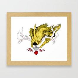 Mona Heart Framed Art Print