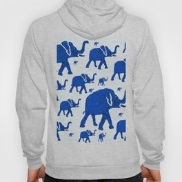 ELEPHANT BLUE MARCH Hoody