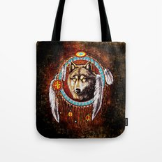 Indian Native Stark Clan Wolf Dream Catcher iPhone 4 4s 5 5s 5c, ipod, ipad, pillow case and tshirt Tote Bag