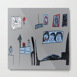 ARCHiTECTURAL DESiGN bedroom Metal Print
