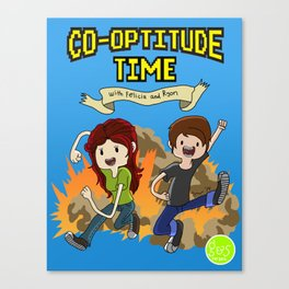 Co-Optitude Time Canvas Print