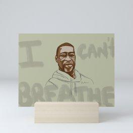 Justice for George Floyd  Mini Art Print