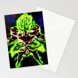 Broly Full Power Stationery Cards