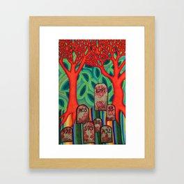 Mile 003 Framed Art Print