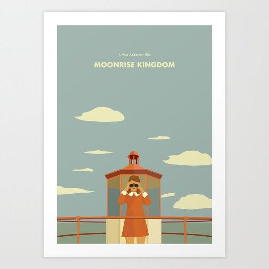Moonrise Kingdom - Suzi Bishop Art Print