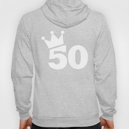 Crown 50th birthday Hoody