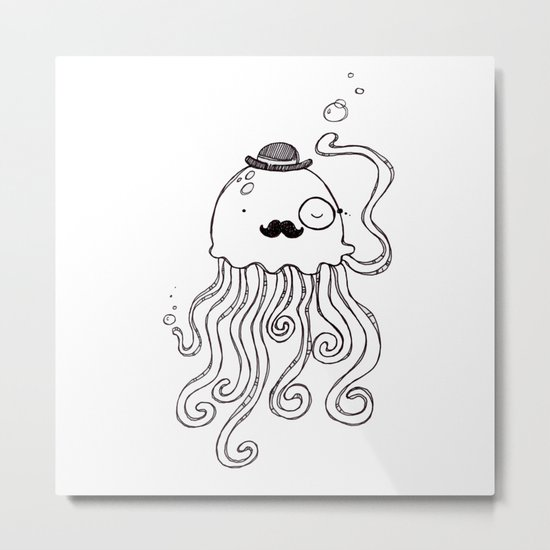Be a Jellymen Metal Print