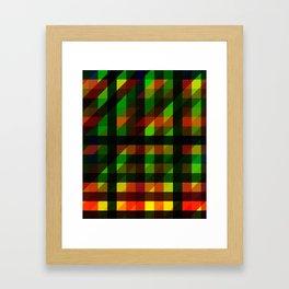 Mage Sync Reflection Crypp Framed Art Print