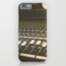 Studio Mixing Board iPhone Case
