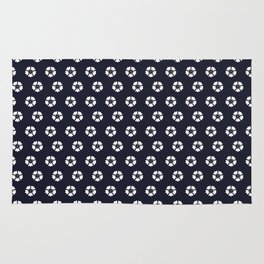 The best effortless style (in dark blue) Rug