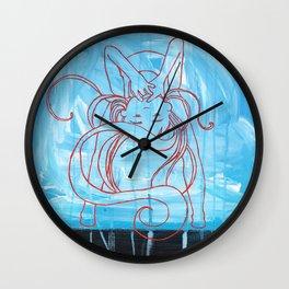Silently Screaming Wall Clock