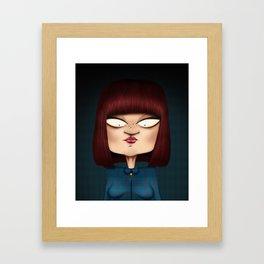 Mrs. Garcia Framed Art Print
