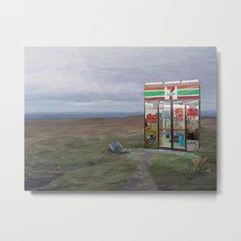Convenience store Metal Print