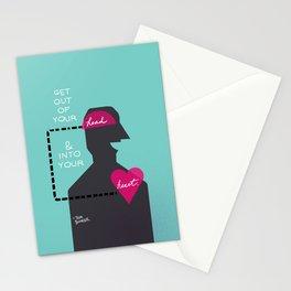 Head/Heart Stationery Cards