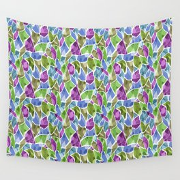 Multi-colored mosaic Wall Tapestry