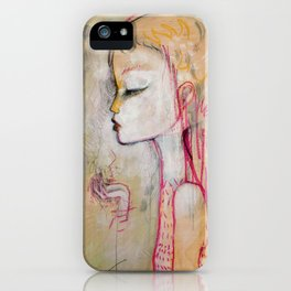Tornado Lady iPhone Case