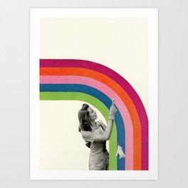 Paint a Rainbow Art Print